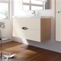 Mueble MAR costados ch. avellana frentes crema mate